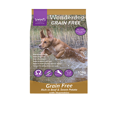 Wonderdog Grain Free Beef & Sweet Potato 15kg