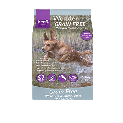 Wonderdog Grain Free White Fish & Sweet Potato 15kg