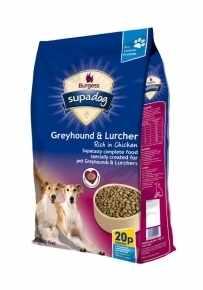 Supadog Greyhound & Lurcher 12.5kg Dog Food