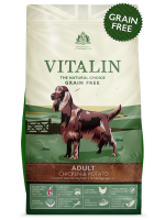 Vitalin Natural Chicken and potato 12kg