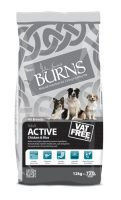 Burns active chicken & rice 12kg dog food