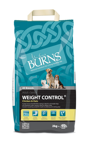 Burns weight control with chicken & oats 15kg dog food