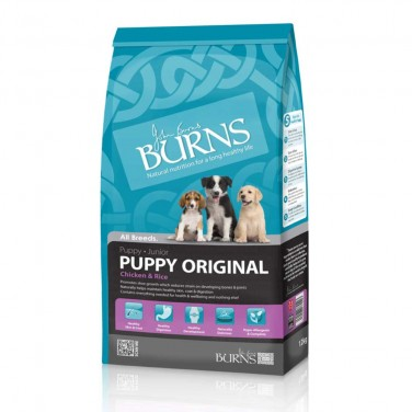 Burns Puppy Original - Chicken & Rice 12kg