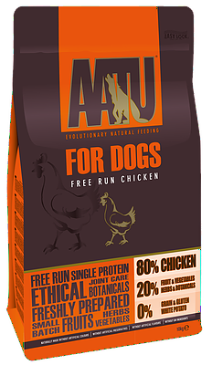 AATU 80/20 Dry Dog Food Chicken 10kg