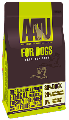 AATU 80/20 Dry Dog Food Duck 10kg