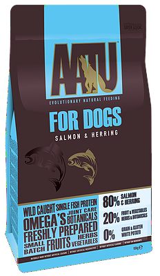 AATU 80/20 Dry Dog Food Salmon 10kg