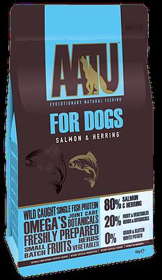 AATU 80/20 Dry Dog Food Salmon 5kg