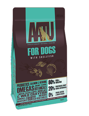 AATU 80/20 Fish & Shellfish Adult Dog Food 10kg