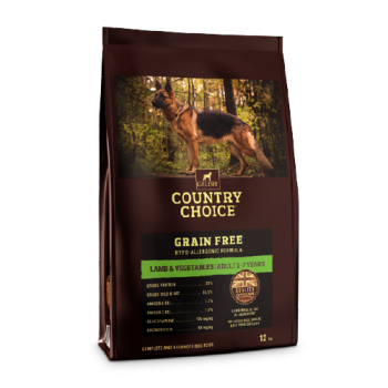 Gelert Country Choice Grain Free Lamb and Veg Dog Food 12kg