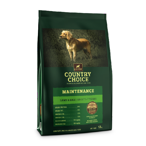 Gelerts Country Choice Maintenance Lamb & Rice Adult Dog Food 12kg