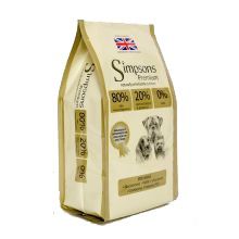 Simpsons Premium 80/20 Mixed Fish Grain Free Dog Food 12kg