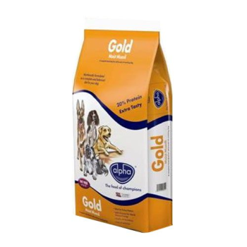 Alpha Gold Dog Food Moist Muesli 15kg