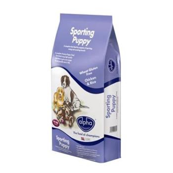 Alpha Sporting Puppy Complete Puppy Food 15kg
