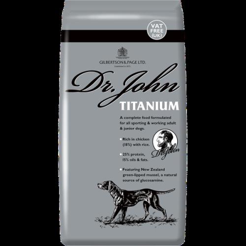 Dr. John Titanium 15kg