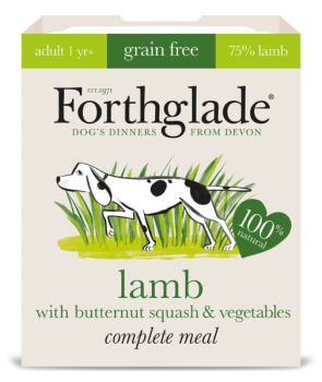 Forthglade Complete Meal Grain Free Lamb with butternut squash & vegetables 7 x 395g