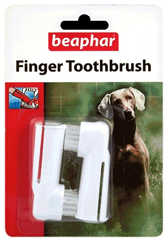 Beaphar Finger Toothbrush - Dog
