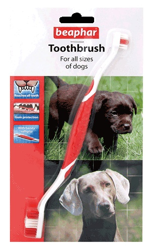 Beaphar Toothbrush For All Dog Sizes