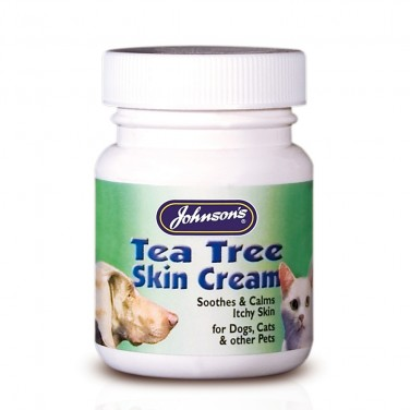 Johnsons Tea Tree Skin Cream 50G