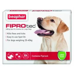 Beaphar FIPROtec Spot On Vet Strength for Medium Dogs 1 Treatment