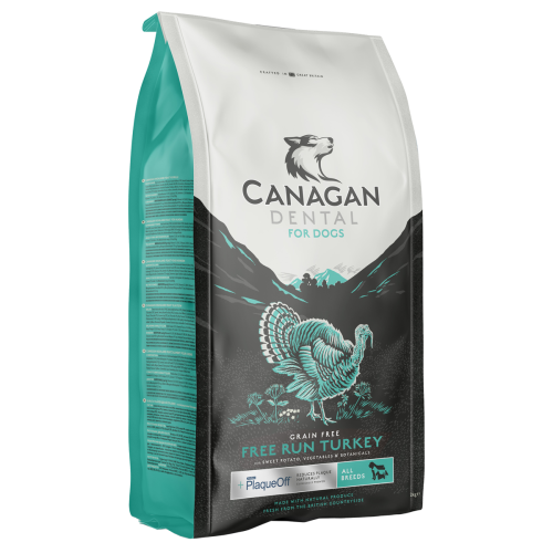 Canagan Free Run Turkey Dental 12kg