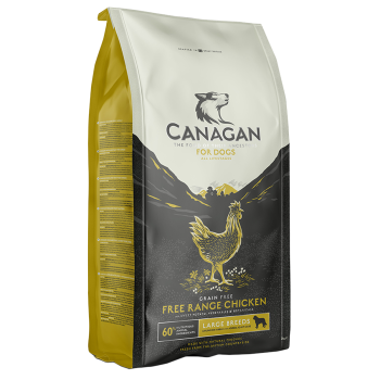 Canagan Free Range Chicken Large Breed 12kg