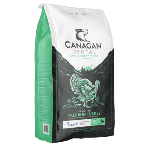 Canagan Small Breed Free-Run Turkey Dental 6kg