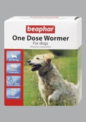 Beaphar One Dose Wormer for Dogs (4 tab)
