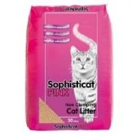 Sophisticat Pink Cat Litter 30 Litre