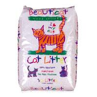 Beauticat Litter (Wood Based) Cat litter 30 litre