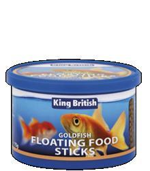 King British Goldfish Floating Food Sticks 35g