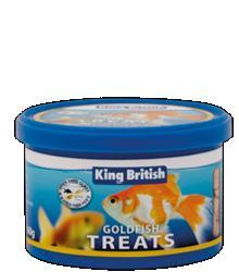 King British Goldfish Treats 60g
