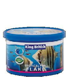 King British Tropical Fish Flake 12g or 28g