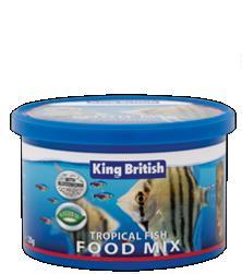 King British Tropical Fish Food Mix 25g