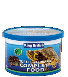 King British Turtle & Terrapin Complete Food 80g or 200g