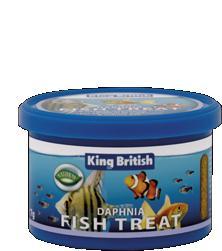 King British Daphnia Fish Treat 7g