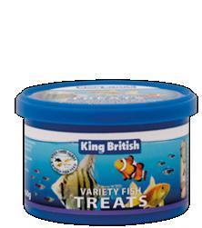 King British Variety Fish Treats 60g