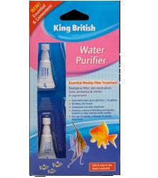 King British Water Purifier ( 6 vials per card )