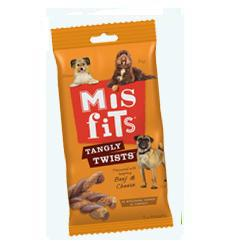 Mis Fits Tangy Treats 140g Dog Treats