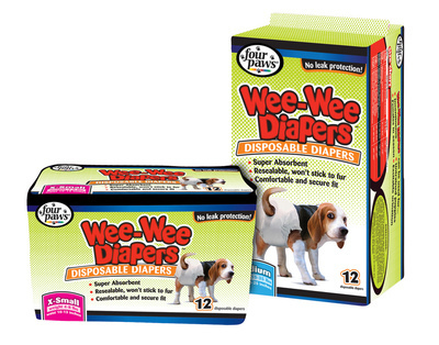 Wee-Wee Disposable Doggie Diapers - Various Size packs