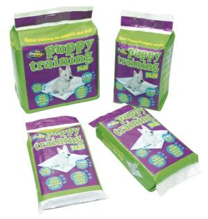 Dogs Puppy Training Pads - Various pack sizes