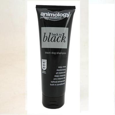 Animology Back To Black Black Dog Shampoo 250ml