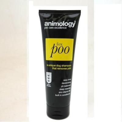 Animology Fox Poo Dog Shampoo 250ml