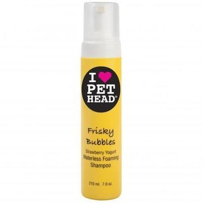 Pet Head Frisky Bubbles Shampoo 210ml