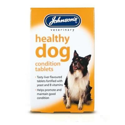 Johnson Healthy Dog Condition Tablets