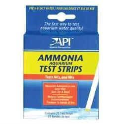 API Ammonia Test Kit   25 Test Strips