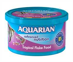 AQUARIAN Tropical Flake Fish Food 200g