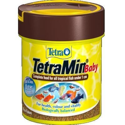 Tetra TetraMin Baby Tropical Fish Flake 30g / 66ml
