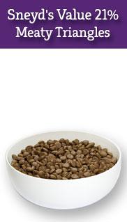 Sneyds Val u mix 21 12.5kg Working Crunch Meaty Triangles Dog Food