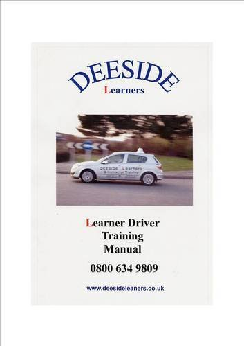 DL Learner Driver Training Manual front page