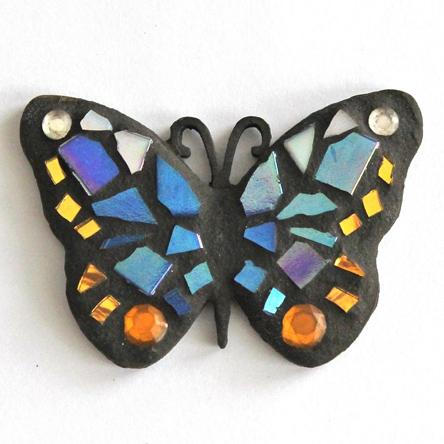 Small mosaic butterfly